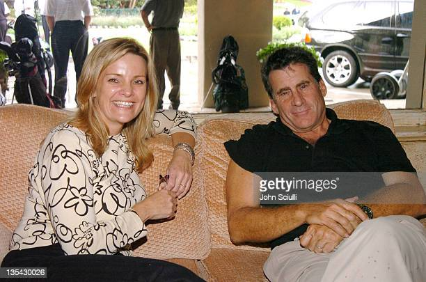 Kate Carr CEO of Elizabeth Glaser Pediatric AIDS Foundationand Paul Michael Glaser at the 6th Annual Golf Classic benefiting the Elizabeth Glaser...