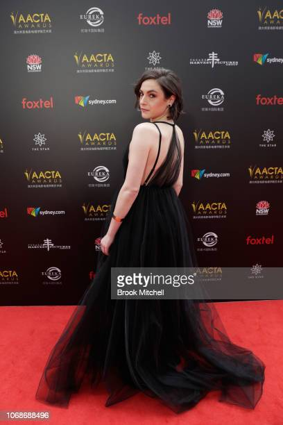 Kate Cheel attends the 2018 AACTA Awards Presented by Foxtel at The Star on December 5 2018 in Sydney Australia