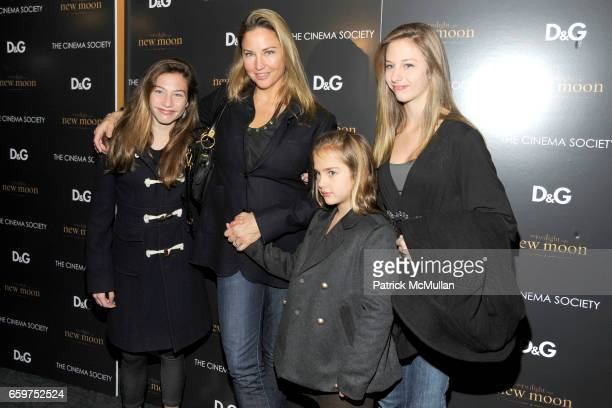 Kate Connick Jill Goodacre Charlotte Connick and Georgia Connick attend THE CINEMA SOCIETY DG host a screening of THE TWILIGHT SAGA NEW MOON at...
