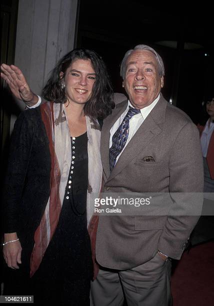 Kate Crane and Kevin McCarthy during Absolute Power Premiere at Mann National Theatre in Westwood California United States
