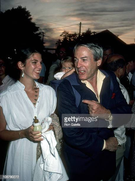 Kate Crane Kevin McCarthy and their daughter during The Laundry Opening July 12 1980 at The Laundry Night Club in East Hampton New York United States