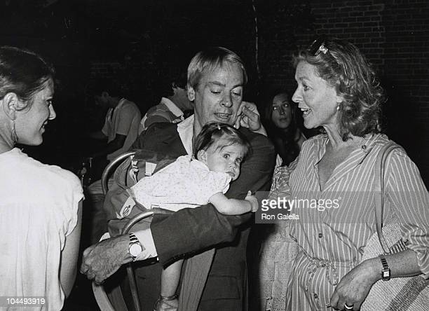 Kate Crane Kevin McCarthy with daughter and Lauren Bacall