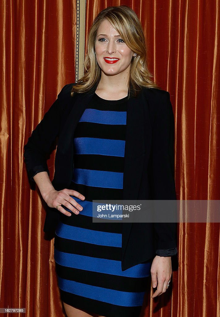 Kate Cullen Roberts attends the 'Breakfast At Tiffany's' Press Preview at Cafe Carlyle on February 27, 2013 in New York City.