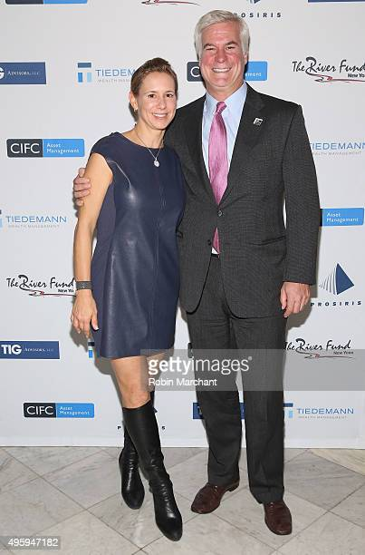 Kate Daly and Pat Daly attend The River Fund NY Taking Poverty Personally Gala on November 5 2015 in New York City