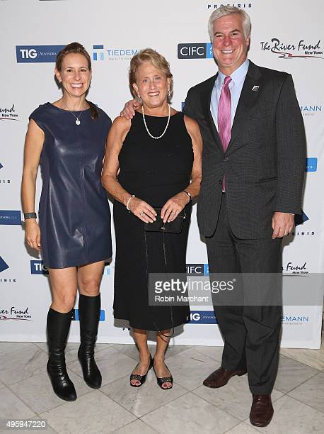 Kate Daly Jan Potts and Pat Daly attend The River Fund NY Taking Poverty Personally Gala on November 5 2015 in New York City