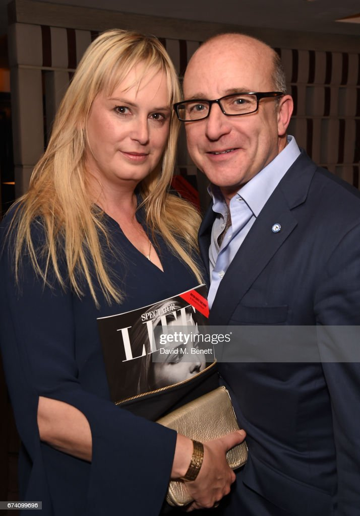 Kate Davey and Paul McKenna attend the Spectator Life 5th Birthday Party at the Hari Hotel on April 27, 2017 in London, England.