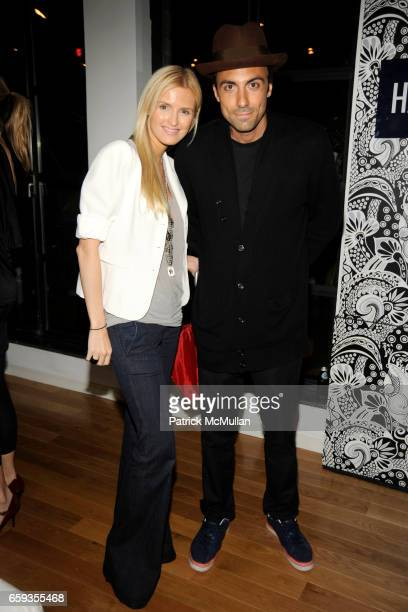 Kate Davidson Hudson and Paris Kain attend LULU FROST and ABRAXAS REX Spring 2010 Preview at the HAUTE LOOK Lounge at The Haute Look Lounge on...