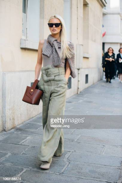 Kate Davidson Hudson at the Altuzarra show during Paris Fashion Week Spring/Summer 2019 on September 29 2018 in Paris France