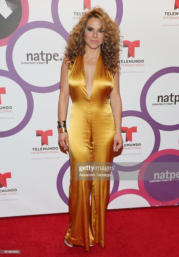 NATPE 2015 - Telemundo International Red Carpet Event : News Photo