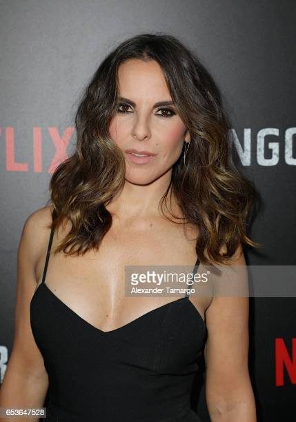Kate del Castillo arrives at the Netflix Ingobernable S1, Premiere Miami Screening 2017 on March 15, 2017 in Miami Beach, Florida.