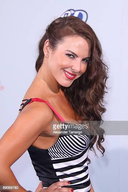 Kate del Castillo arrives at Univision's Premios Juventud Awards 2009 at Bank United Center on July 16 2009 in Coral Gables Florida