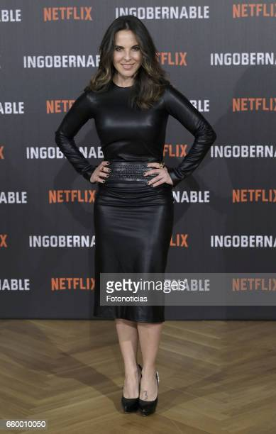 Kate del Castillo attends a photocall for 'Ingobernable' at the Ritz Hotel on March 29 2017 in Madrid Spain
