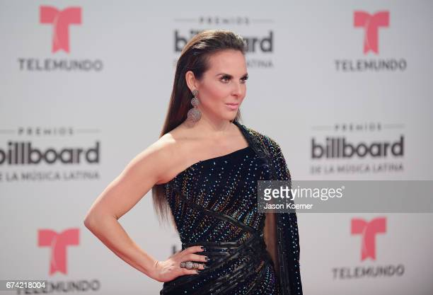 Kate Del Castillo attends the Billboard Latin Music Awards at Watsco Center on April 27 2017 in Miami Florida