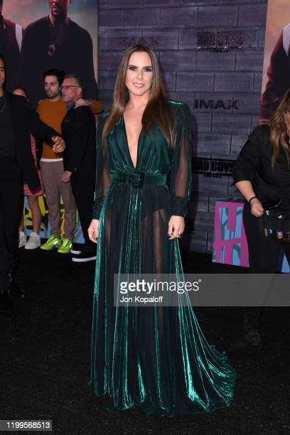 "Kate del Castillo attends the premiere of Columbia Pictures' ""Bad Boys For Life"" at TCL Chinese Theatre on January 14, 2020 in Hollywood, California."