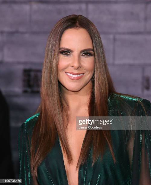 "Kate del Castillo attends the World Premiere of ""Bad Boys for Life"" at TCL Chinese Theatre on January 14, 2020 in Hollywood, California."