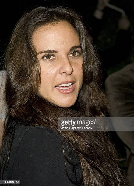 Kate del Castillo during Celebrity Sightings in Hollywood April 27 2007 in Hollywood United States