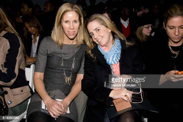 Kate Dimmock and Michelle McCool attend NICOLE MILLER Fall 2010 Collection at Bryant Park Tents on February 12 2010 in New York City