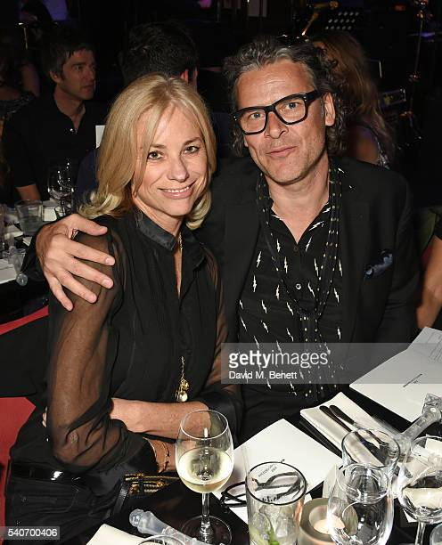 Kate Driver and George Waud attend 'Hoping's Greatest Hits' the 10th anniversary of The Hoping Foundation's fundraising event for Palestinian refugee...