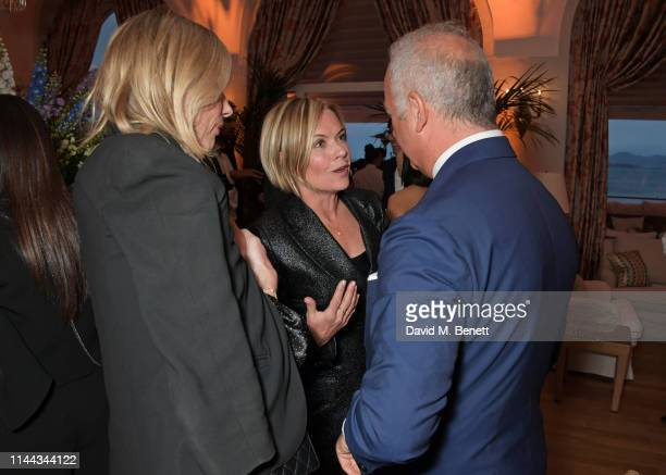 Kate Driver Mariella Frostrup and CEO of Finch Partners Charles Finch attend the 10th Annual Filmmakers Dinner hosted by Charles Finch Edward...