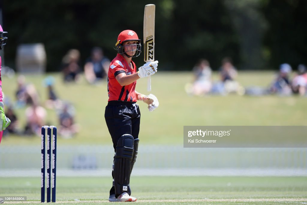 Women's T20 Super Smash - Canterbury Magicians v Northern Spirit : News Photo