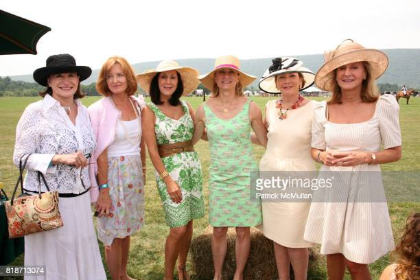 Kate Fahey Mary Ackerman Martha Sweeney Jean Solomon and Caroline Mosse attend The 13th Annual MASHOMACK INTERNATIONAL Polo Challenge presented by...