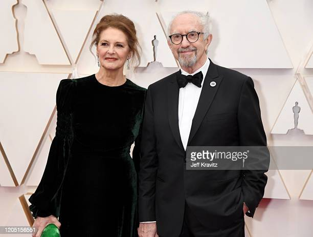 Kate Fahy and Jonathan Pryce attend the 92nd Annual Academy Awards at Hollywood and Highland on February 09 2020 in Hollywood California