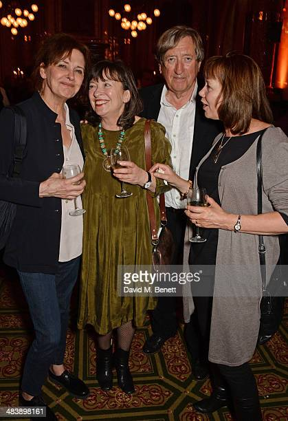 Kate Fahy Marion Bailey Philip Jackson and Sally Baxter attend an after party following the press night performance of Handbagged at the Royal...