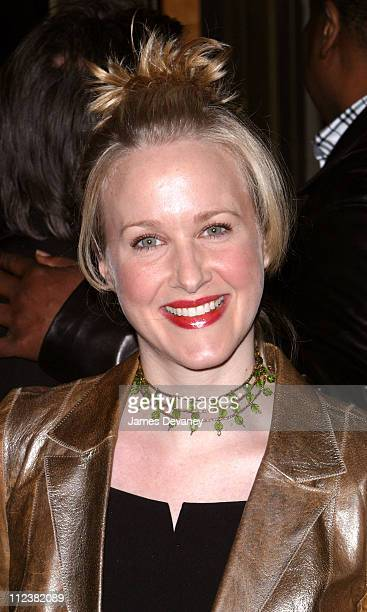 Kate Finneran during 'Nine' Broadway Opening at The Eugene O'Neill Theatre in New York City New York United States