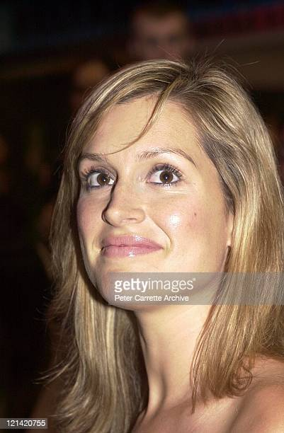 Kate Fischer arrives at the Australian premiere of the Mel Gibson film 'We Were Soldiers' at Hoyts Cinema George Street on April 22 2002 in Sydney...