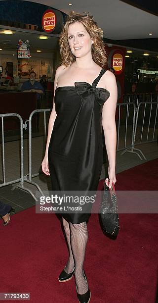 Kate Fischer attends the opening night of Macbeth at the Greater Union Cinemas on September 6 2006 in Sydney Australia