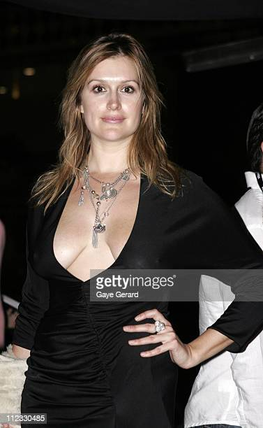 Kate Fischer during MAFW MercedesBenz Fashion Week Spring/Summer 2006 Alex Perry Runway in Sydney NSW Australia