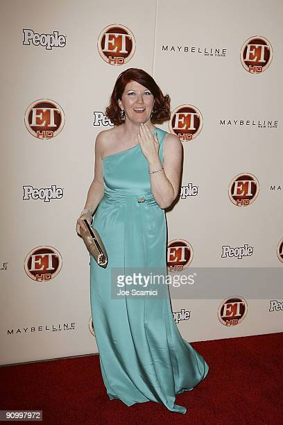Kate Flannery arrives at Vibiana for the 13th Annual Entertainment Tonight and People magazine Emmys After Party on September 20, 2009 in Los...