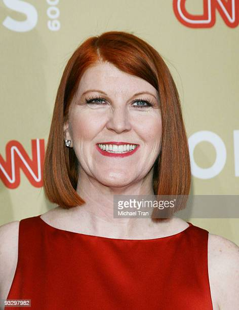 """Kate Flannery arrives to the 3rd Annual """"CNN Heroes: An All-Star Tribute"""" held at the Kodak Theatre on November 21, 2009 in Hollywood, California."""