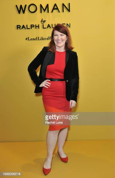 Kate Flannery attends Sisterhood Of Leaders hosted by Ralph Lauren Fragrances and Women In Film at Waldorf Astoria Beverly Hills on October 24 2018...
