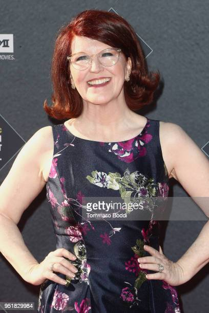 Kate Flannery attends the 2018 TCM Classic Film Festival Opening Night Gala 50th Anniversary World Premiere Restoration Of The Producers at TCL...