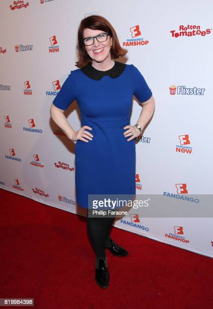Kate Flannery attends the ComicCon International 2017 Fandango opening night party with special performance by Elle King at San Diego Convention...