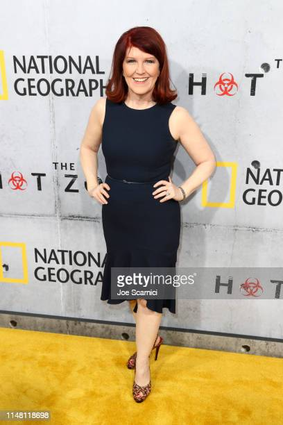 """Kate Flannery attends the L.A. Premiere of National Geographic's 3-Night Limited Series """"The Hot Zone"""", which premieres Monday, May 27, 9/8c, at..."""