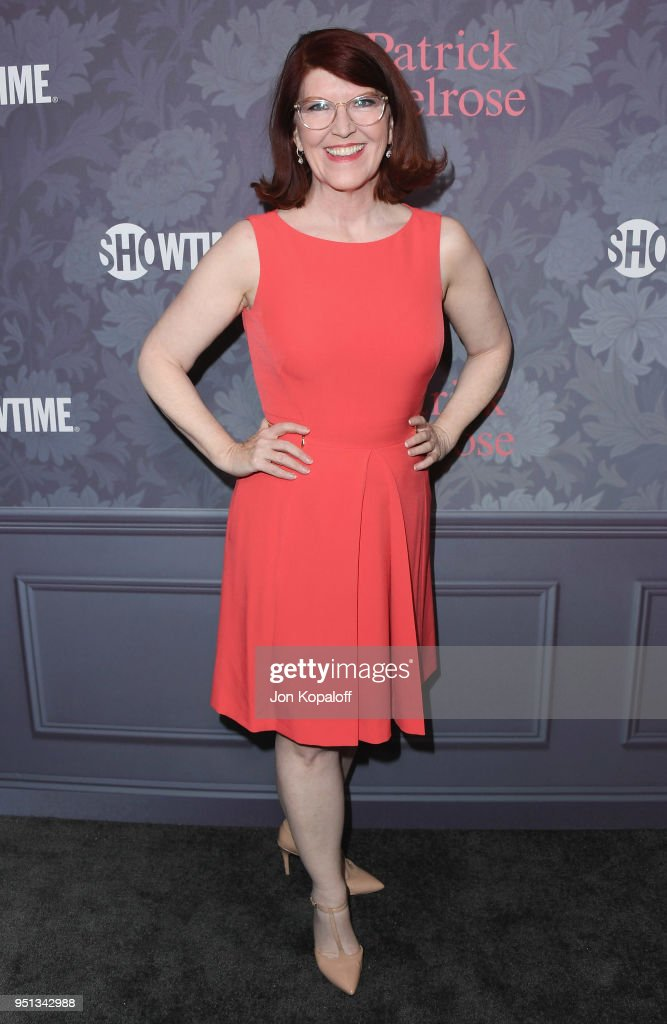 Kate Flannery attends the premiere of Showtime's 'Patrick Melrose' at Linwood Dunn Theater on April 25, 2018 in Los Angeles, California.