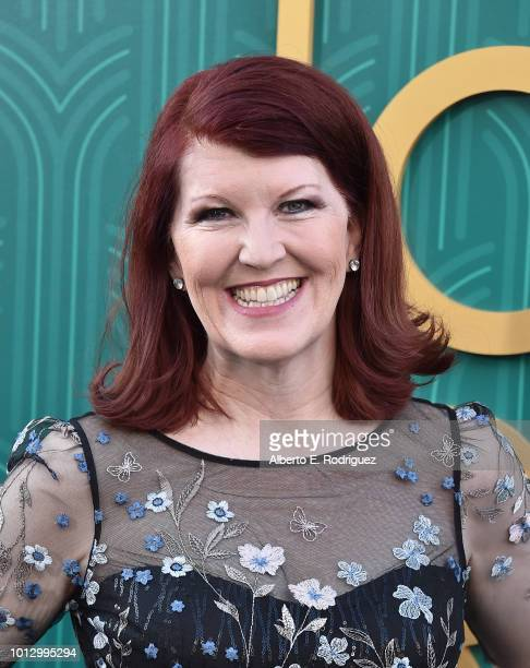 """Kate Flannery attends the premiere of Warner Bros. Pictures' """"Crazy Rich Asiaans"""" at TCL Chinese Theatre IMAX on August 7, 2018 in Hollywood,..."""