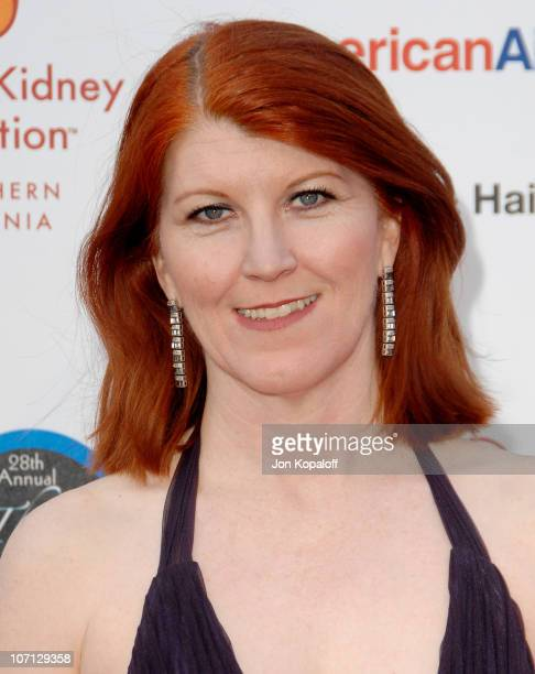 Kate Flannery during National Kidney Foundation of Southern California's 28th Annual Gift of Life Celebration and Award Dinner at Warner Bros. Lot in...