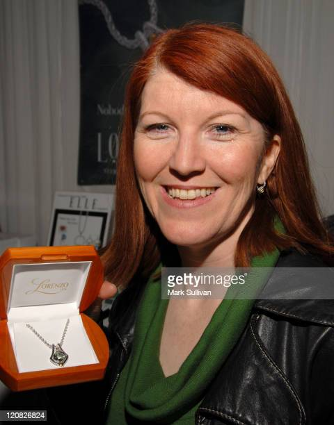 Kate Flannery during The 49th Annual GRAMMY Awards GRAMMY Gift Lounge Day 1 at Staples Center in Los Angeles California United States