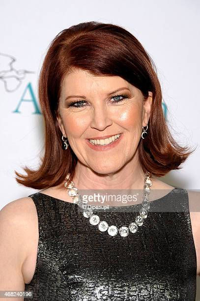 Kate Flannery hosts the National Audubon Society Annual Gala at The Plaza Hotel on March 31 2015 in New York City
