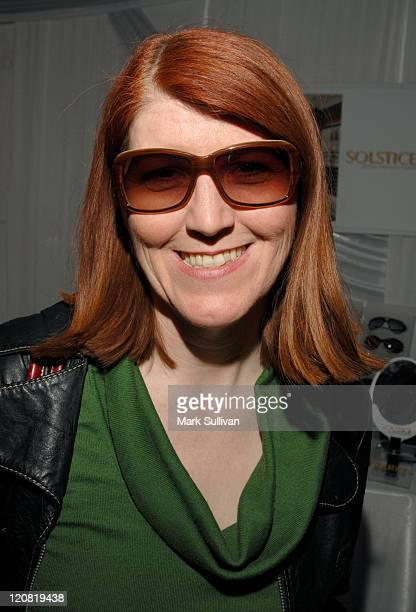 Kate Flannery in Valentino 5522/s Sunglasses during Solstice Sunglass Boutique and Safilo USA at the Distinctive Assets Grammy Lounge at Staples...
