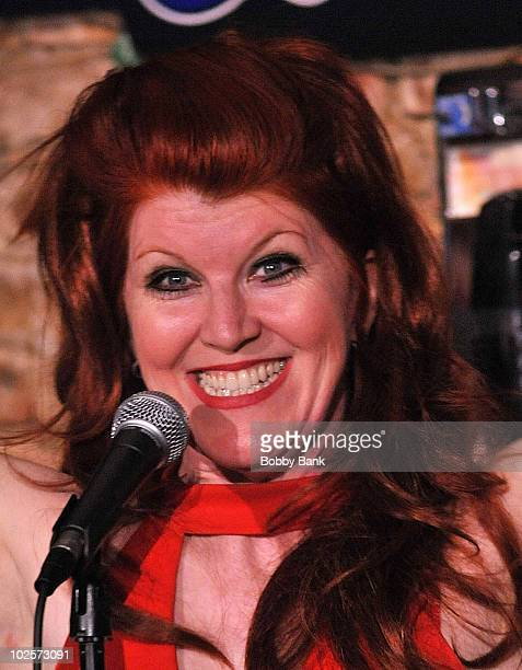 Kate Flannery performs at The Stress Factory Comedy Club on June 17, 2010 in New Brunswick, New Jersey.