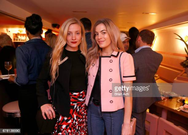 Kate Foley and Chelsea Leyland pose for a photo together as Maria Hatzistefanis and Brad Goreski host Rodial VIP Dinner on May 3 2017 in New York City
