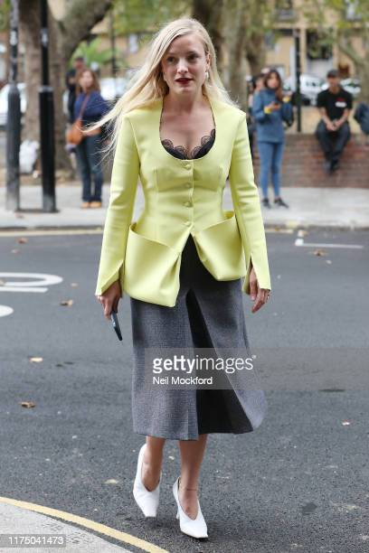 Kate Foley attends Christopher Kane at Hawley Wharf during LFW September 2019 on September 16 2019 in London England