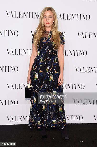 Kate Foley attends the Valentino Sala Bianca 945 Event on December 10 2014 in New York City