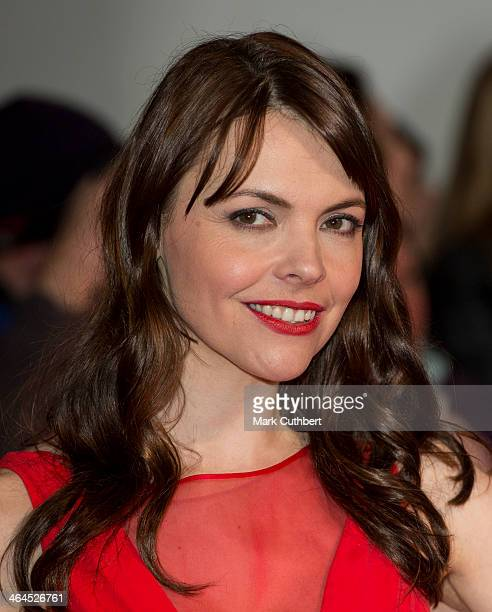 Kate Ford attends the National Television Awards at 02 Arena on January 22 2014 in London England