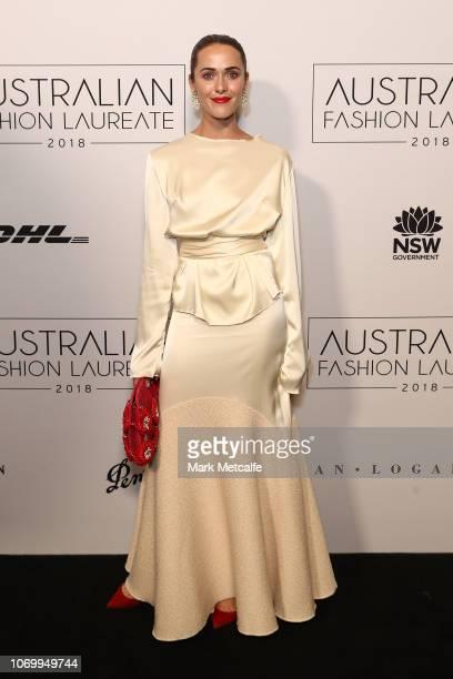 Kate Fowler attends the 2018 Australian Fashion Laureate Awards on November 20 2018 in Sydney Australia
