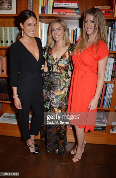 Kate Freer Nicki Shields and Danielle O'Sullivan attend the ABB Formula E dinner in Berlin with Emily Ratajkowski ahead of the BMW i Berlin EPrix at...